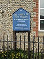 2018-03-29 Sign, Parish Church of Saint Andrew, Felbrigg Road, East Runton.JPG