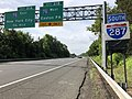 2018-05-29 09 59 29 View south along Interstate 287 just north of Exit 21A (Interstate 78 WEST, Easton PA) in Bedminster Township, Somerset County, New Jersey.jpg
