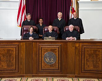 Supreme Court of Florida - Florida Supreme Court in 2018 under Chief Justice Charles Canady.