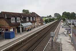 2018 at Datchet station - looking towards London.JPG
