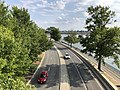 2019-09-12 16 41 14 View south along the Rock Creek and Potomac Parkway from the balcony of the Kennedy Center in Washington, D.C..jpg