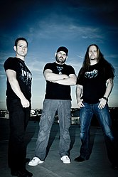 Promofoto der Band Darkride (2012)