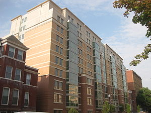 George Washington University residence halls - Image: 2135 F Street GWU