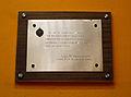 249 Centre Moral de Gràcia, placa del 75è aniversari.jpg
