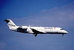 258au - Tyrolean Airways Canadair RJ200LR, OE-LCJ@ZRH,14.09.2003 - Flickr - Aero Icarus.jpg