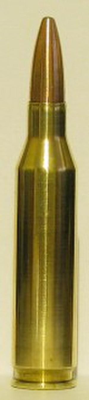 .260 Remington - .260 Remington cartridge with a 120 grain Remington Core-Lokt bullet.