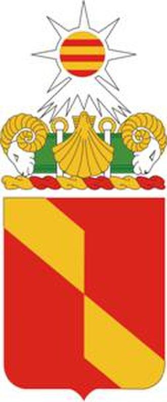 27th Field Artillery Regiment - Coat of arms