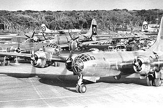Haywood S. Hansell - B-29 bombers of XXI Bomber Command