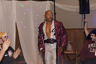 2 Cold Scorpio - 2 Cold Scorpio making his entrance at a show in March 2013