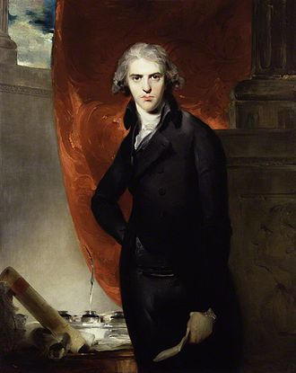 Treaty of Amiens - Britain's foreign secretary Robert Jenkinson, Lord Hawkesbury, portrait by Thomas Lawrence