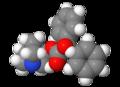 3-quinuclidinyl benzilate 3d.png
