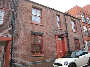 Well Meadow Street Crucible Furnace - The owner's house, number 35