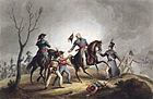 36 214430~death-of-sir-john-moore-(1761-1809)-january-17th-1809,-from-'the-martial-achievements-of-great-britain-and-her-allies-from-1799-.jpg