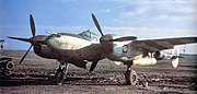370th Fighter Group P-38 Lightning Lonray Airfield France 1944