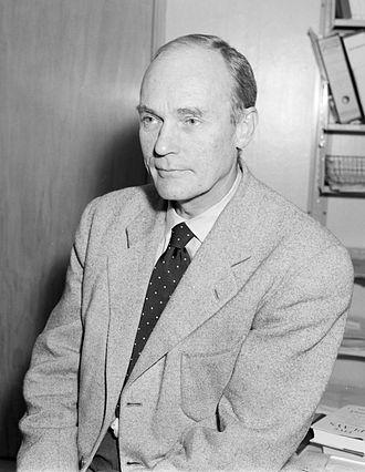 Hans Heiberg - Hans Heiberg in 1954