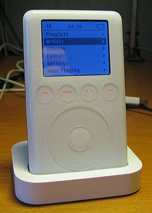 IPod Classic - iPod (3rd gen), 2003.