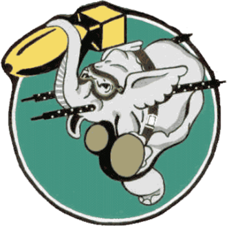 904th Expeditionary Air Refueling Squadron - Image: 404th Bombardment Squadron Emblem