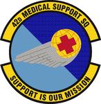 42 Medical Support Sq emblem.png