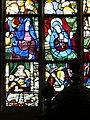 4421.Bunte Bleiglasfenster-Die Bibel in Bildern- Verständlich auch für Die die weder Lesen und noch Schreiben könnende Bevölkerung vergangener Zeiten.JPG