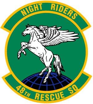 48th Rescue Squadron - 48th Rescue Squadron Patch