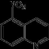 Strukturformel von 5-Nitrochinolin