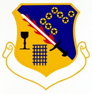 501st Combat Support Group - Image: 501 Combat Support Gp emblem