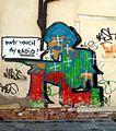 5900 - Venezia - Graffito in p.zza dei Carmini - Foto Giovanni Dall'Orto, 7-Aug-2008.jpg