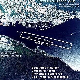 Ketchikan Harbor Seaplane Base - Image: 5KE a