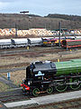 60163 Tornado 12 March 2009 Tyne Yard pic 11.jpg