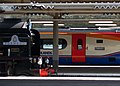 60163 Tornado and 222003 Tornado 24 March 2009 Sheffield Midland station pic 3.jpg