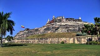 Castillo San Felipe de Barajas Castle in Colombia