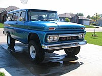 1960 GMC Carryall