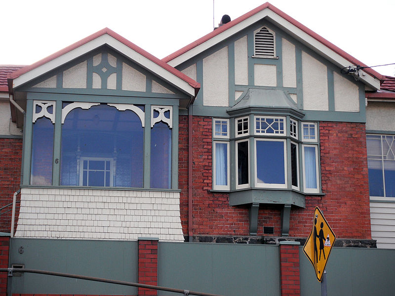 6 Abbott St East Launceston, Tasmania in Federation Queen Anne and Shingle style