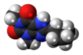 8-Cyclopentyltheophylline 3D spacefill.png