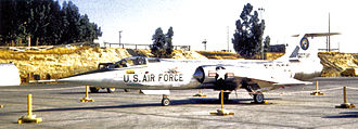 28th Air Division - Image: 83d Fighter Interceptor Squadron F 104 56 780