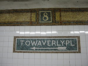 Eighth Street–New York University (BMT Broadway Line) - Mosaic