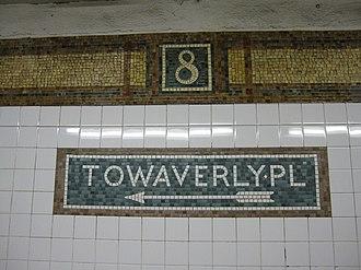 Eighth Street–New York University (BMT Broadway Line) - Mosaic