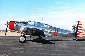 Northrop A-17 - A-17A 36-0207