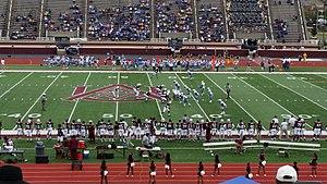 Alabama A&M Bulldogs and Lady Bulldogs - Image: AAM Uvs SU2014