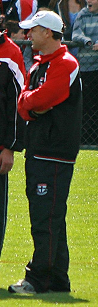 Tony Elshaug - Image: AC. Tony Elshaug, St Kilda FC 01
