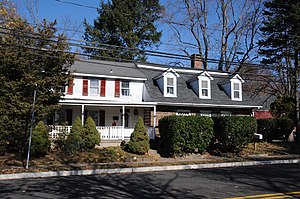 National Register of Historic Places listings in Ridgewood, New Jersey - Image: ACKERMAN VAN EMBURGH HOUSE, RIDGEWOOD, BERGEN COUNTY