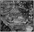 AERIAL VIEW OF COMPLEX 1'=500' - U.S. Naval Hospital, Park Boulevard, Balboa Park, San Diego, San Diego County, CA HABS CAL,37-SANDI,27-1.tif