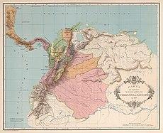 AGHRC (1890) - Carta V - División política del Virreinato de Santafé, 1810.jpg