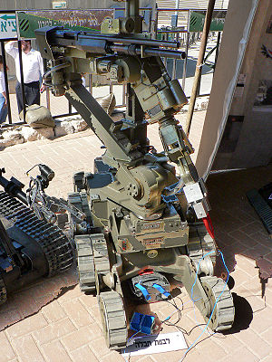 IDF American Andros EOD robot. This paticular model is the MarkV-A1