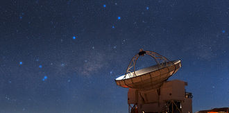 Atacama Pathfinder Experiment - Image: APEX Stands Sentry on Chajnantor