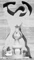 ASC Leiden - NSAG - van Es 16a - 018 - Le monument de l'indépendance. Une sculpture blanche du torse d'une femme - Lomé, Togo - février 1962 (cropped) (cropped).tif