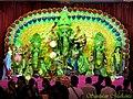 A Durga Puja penal in Lucknow - Flickr - Dr. Santulan Mahanta.jpg