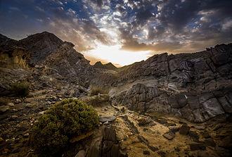 Tabernas Desert - A Sunrise in the Tabernas Desert