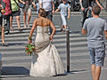 A bride in Paris, August 2011.jpg