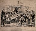 A cart laden with casualties of the French Revolution of 184 Wellcome V0041818.jpg